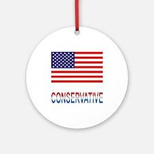Conservative Ornament (Round)
