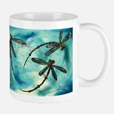 Dragonfly Cloud Mugs