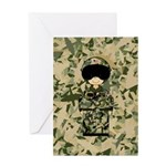 USA Air Force Pilot Greeting Card
