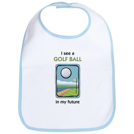 I see a Golf Ball in my Future Bib