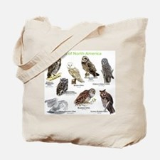 Owls of North America Tote Bag