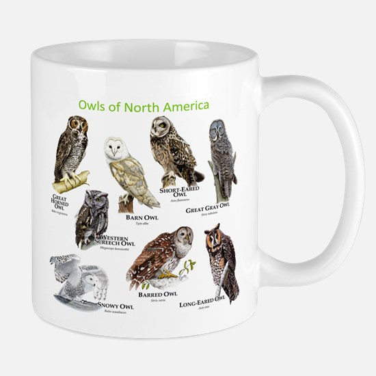 Owls of North America Mug