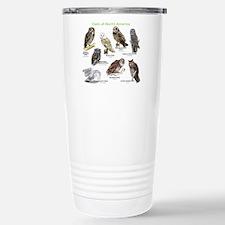 Owls of North America Travel Mug
