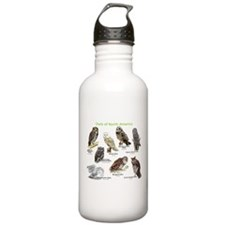 Owls of North America Water Bottle