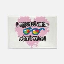Autism before it was cool Rectangle Magnet (10 pac