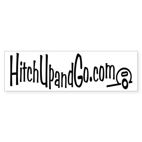 HitchUpandGo Sticker (Bumper 10 pk)
