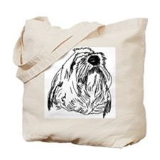Noble Beardie Tote Bag