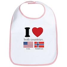 USA-NORWAY Bib