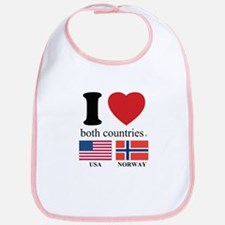 USA-NORWAY Bib
