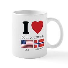 USA-NORWAY Mug
