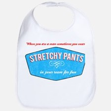 Stretchy Pants (Vintage Look) Bib