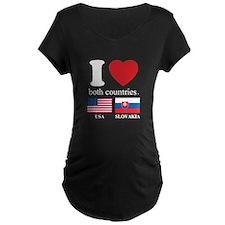 USA-SLOVAKIA T-Shirt