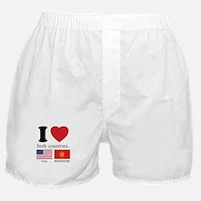 USA-MONTENEGRO Boxer Shorts