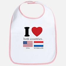 USA-NETHERLANDS Bib