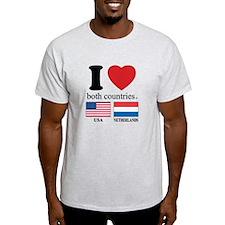 USA-NETHERLANDS T-Shirt