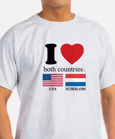 USA-NETHERLANDS T-Shirt