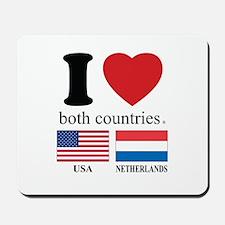 USA-NETHERLANDS Mousepad