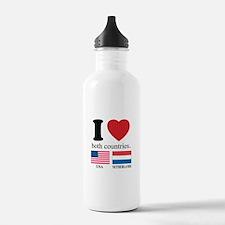USA-NETHERLANDS Sports Water Bottle