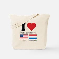 USA-NETHERLANDS Tote Bag