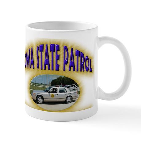 Iowa State Patrol Mug