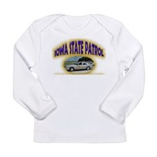 Iowa State Patrol Long Sleeve Infant T-Shirt