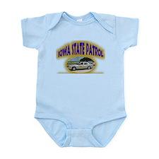 Iowa State Patrol Infant Bodysuit