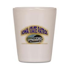 Iowa State Patrol Shot Glass
