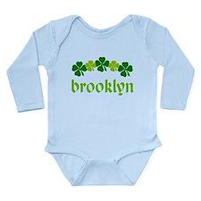 Brooklyn Irish St Patrick's Day Onesie Romper Suit