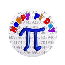 """Pi Day 3.5"""" Button (100 pack)"""