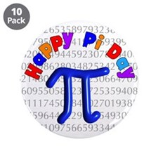"Pi Day 3.5"" Button (10 pack)"