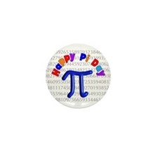Pi Day Mini Button