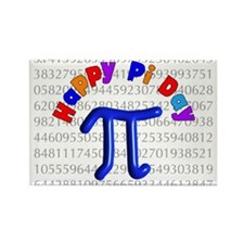 Pi Day Rectangle Magnet