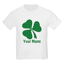 Personalized Irish Shamrock T-Shirt