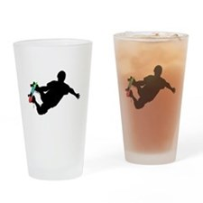 Cute Skateboard board Drinking Glass