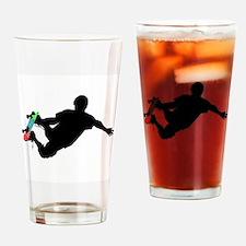 Unique Skateboard board Drinking Glass
