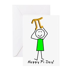 Pi Day Greeting Cards (Pk of 20)
