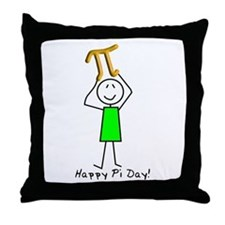 Pi Day Throw Pillow