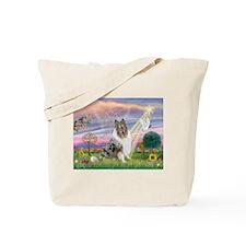 CloudAngel-Collie (B) Tote Bag