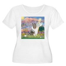 CloudAngel-Collie (B) T-Shirt