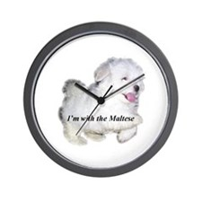 I'm with the Maltese Wall Clock