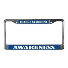 Charge Syndrome Awareness License Frame