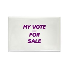 Not for Sale Rectangle Magnet