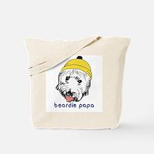 Beardie Papa Tote Bag