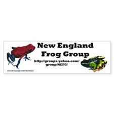 New England Frog Group Bumper Bumper Sticker