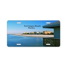 Fort Myers Aluminum License Plate