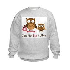 Big Sister - Mod Owl Sweatshirt