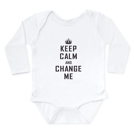 Keep Calm Long Sleeve Infant Bodysuit