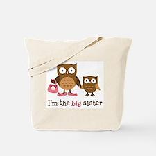 Big Sister - Mod Owl Tote Bag