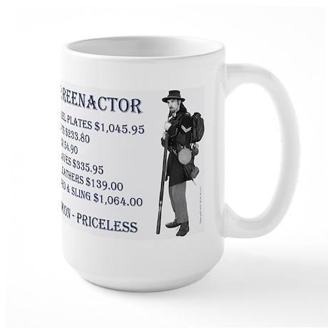 Union Reenactor Large Mug