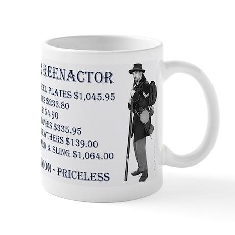 Union Reenactor Mug
